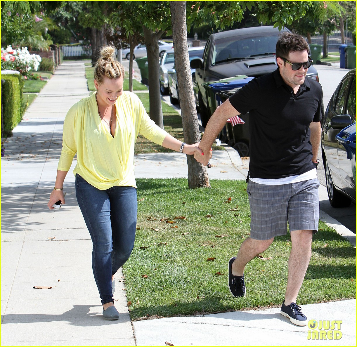 hilary duff mike comrie 4th of july twosome 01