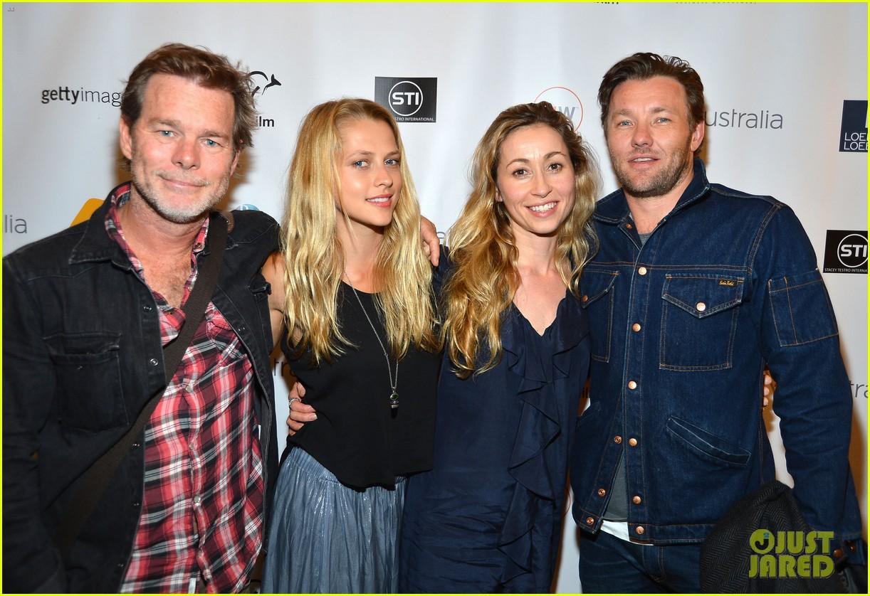 joel edgerton teresa palmer wish you were here screening 102692693