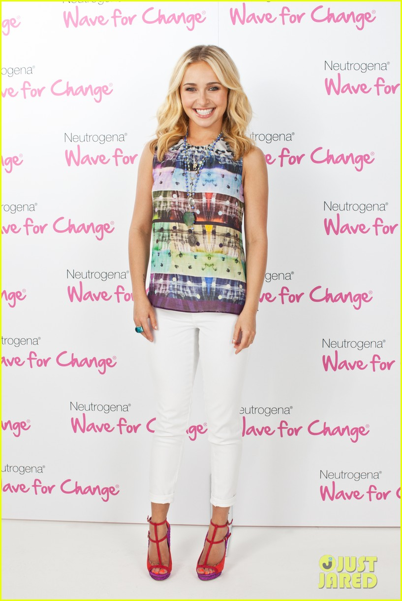 emma roberts hayden panettiere neutrogena wave for change 05