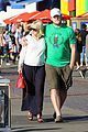 anna faris santa monica pier with chris pratt 14