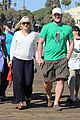 anna faris santa monica pier with chris pratt 19