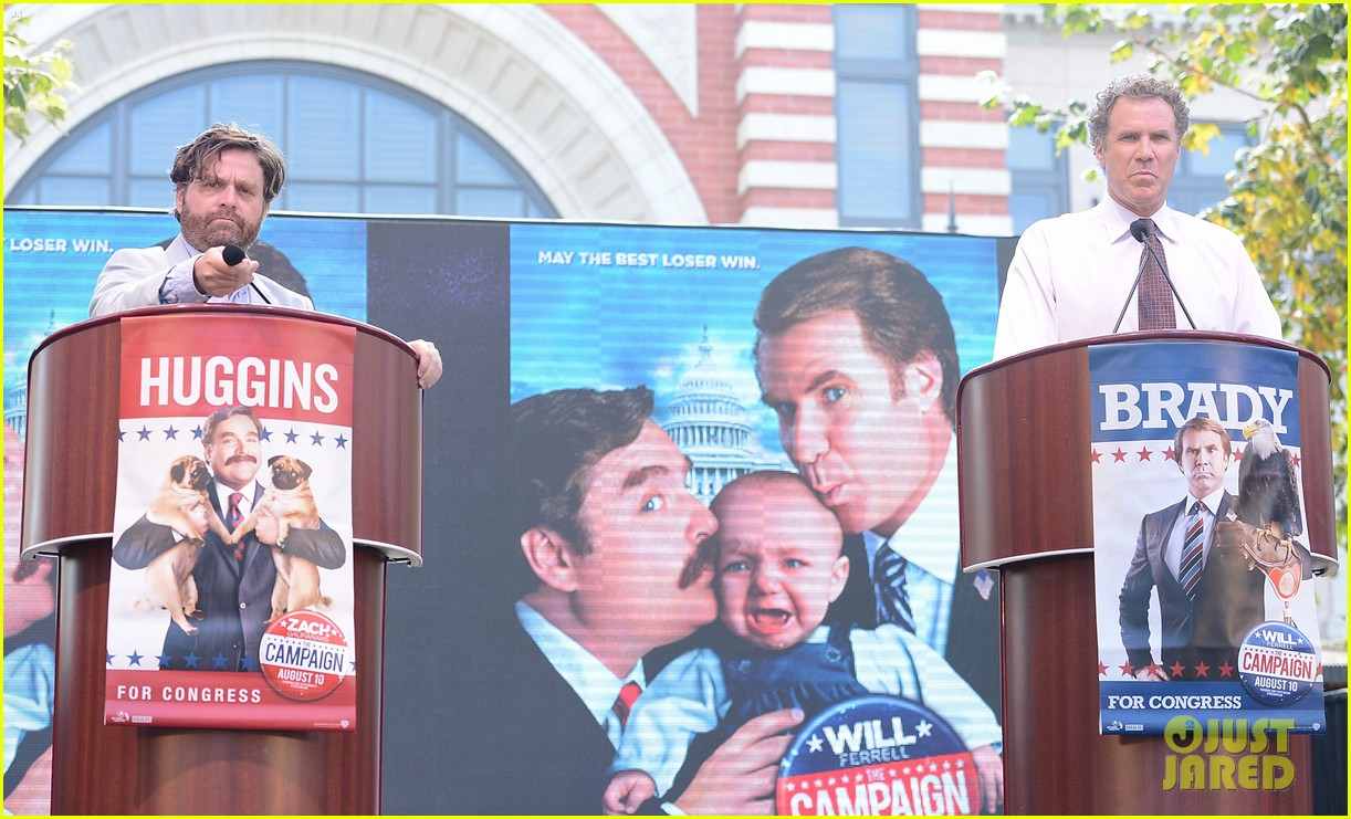 ferrell galifianakis campaign tour launch 052688829