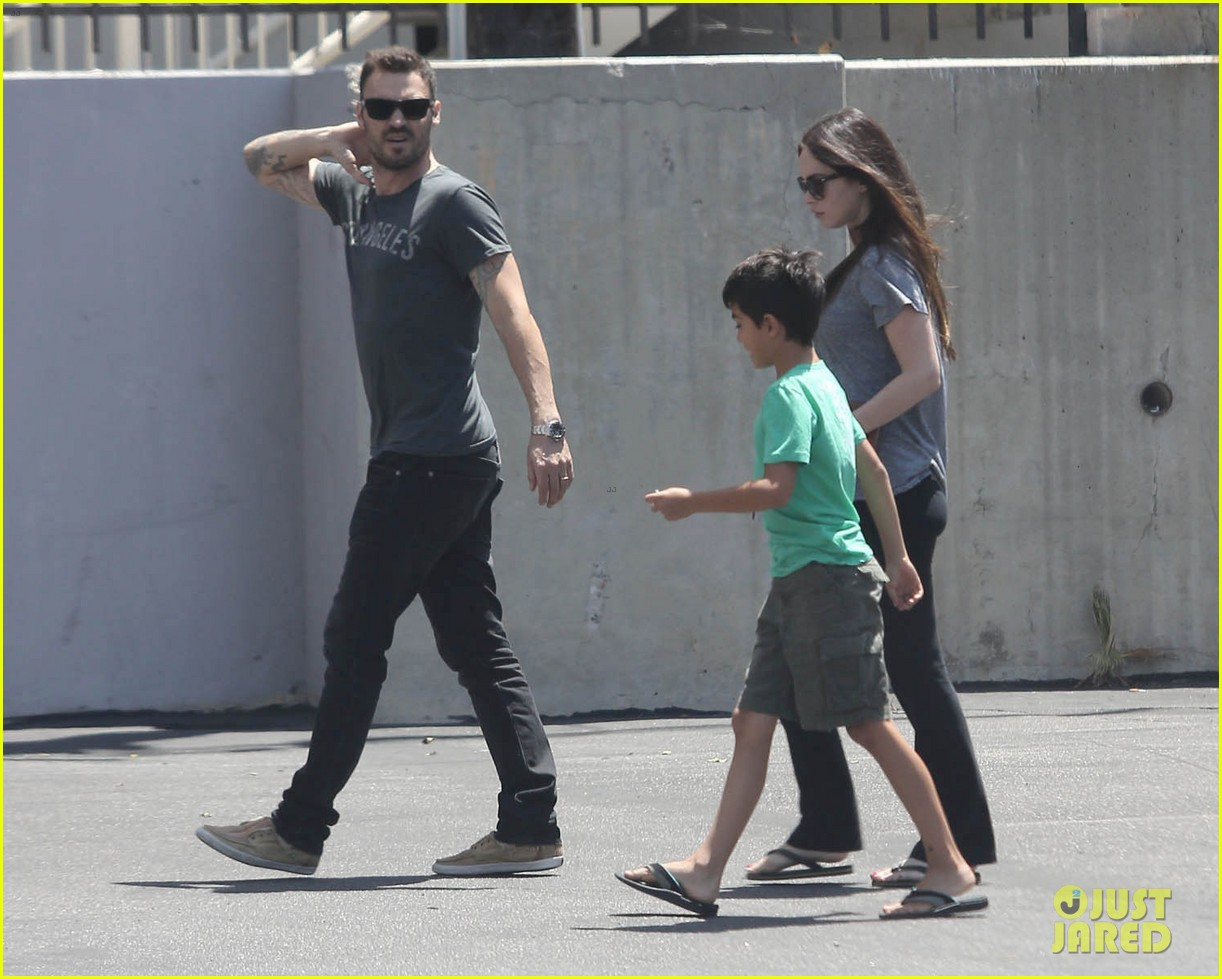 megan fox brian austin green lunch with kassius 032692088