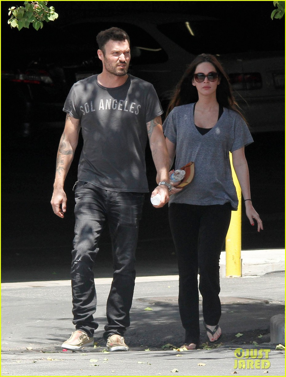 megan fox brian austin green lunch with kassius 14