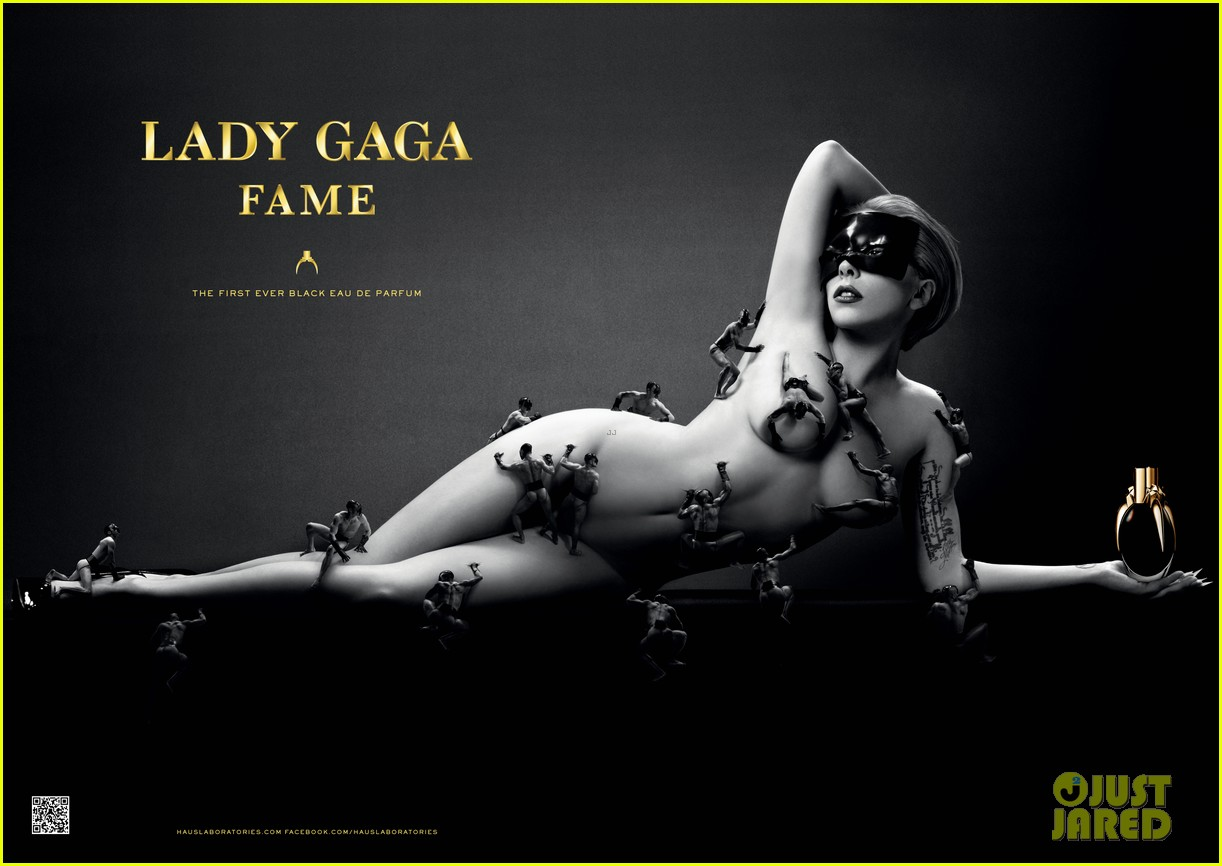 lady gaga naked for fame perfume ad2688446