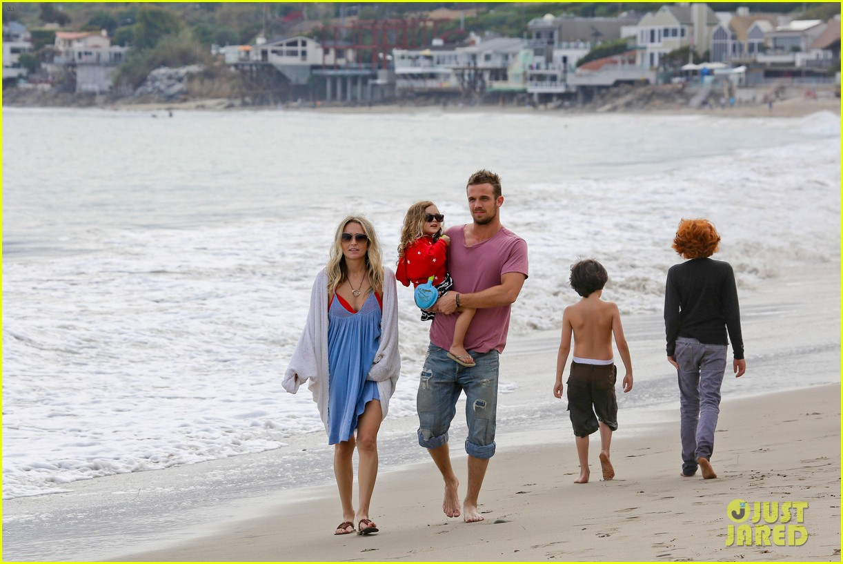 cam gigandet dominique geisendorff july 4 beach everleigh 062683416