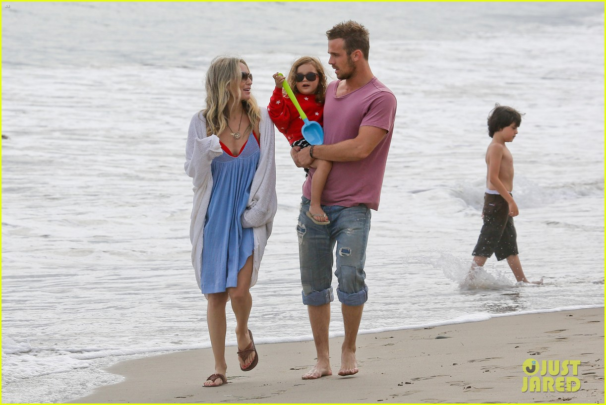 cam gigandet dominique geisendorff july 4 beach everleigh 102683420
