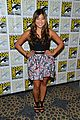 lea michele glee cast hits comic con 2012 05