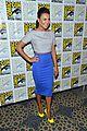 lea michele glee cast hits comic con 2012 09