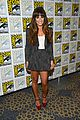 lea michele glee cast hits comic con 2012 12