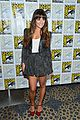 lea michele glee cast hits comic con 2012 23