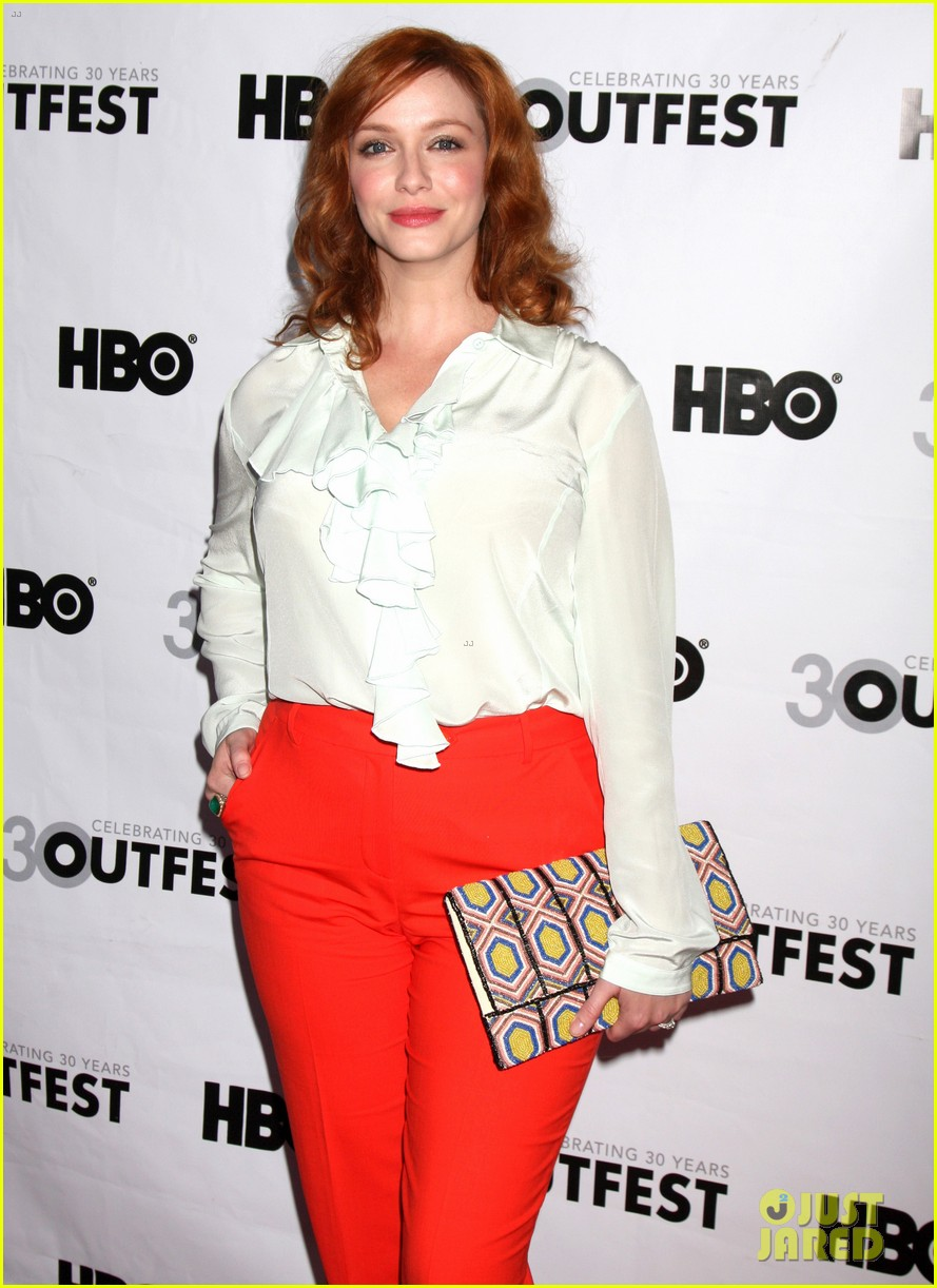 christina hendricks struck by lightning l a premiere 10