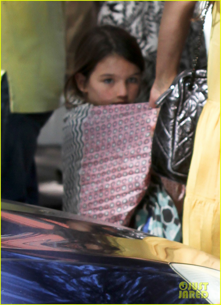 katie holmes ice cream date with suri 02