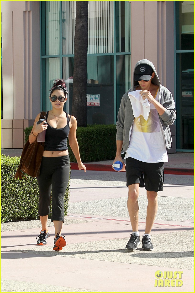 vanessa hudgens morning workout 072689467
