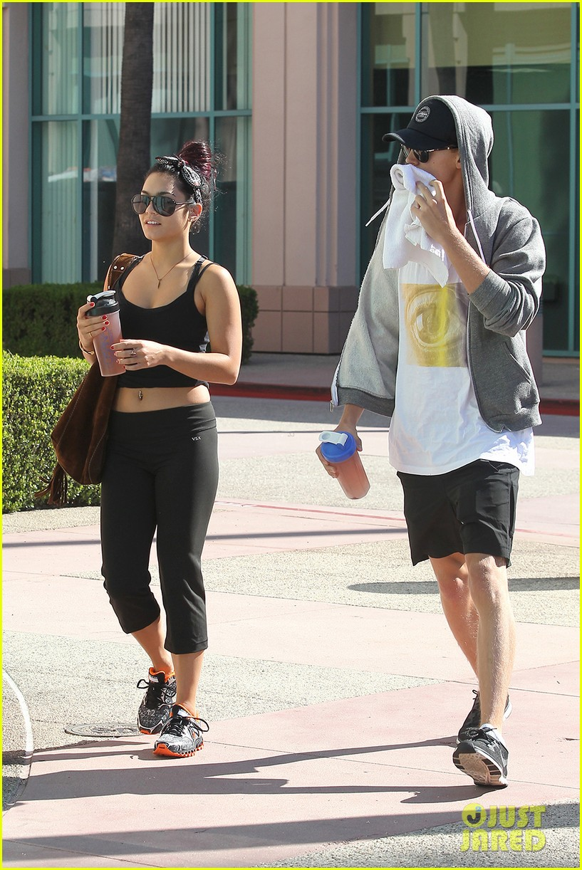 vanessa hudgens morning workout 092689469