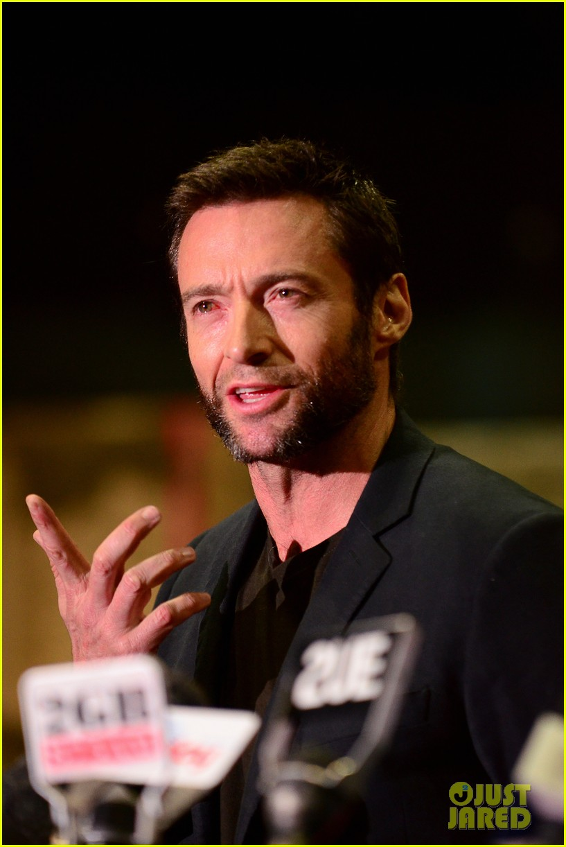 hugh jackman wolverine press conference 062691583