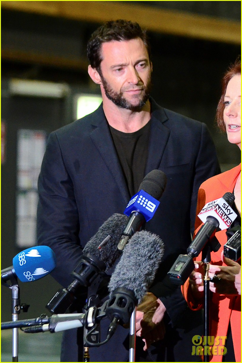 hugh jackman wolverine press conference 082691585