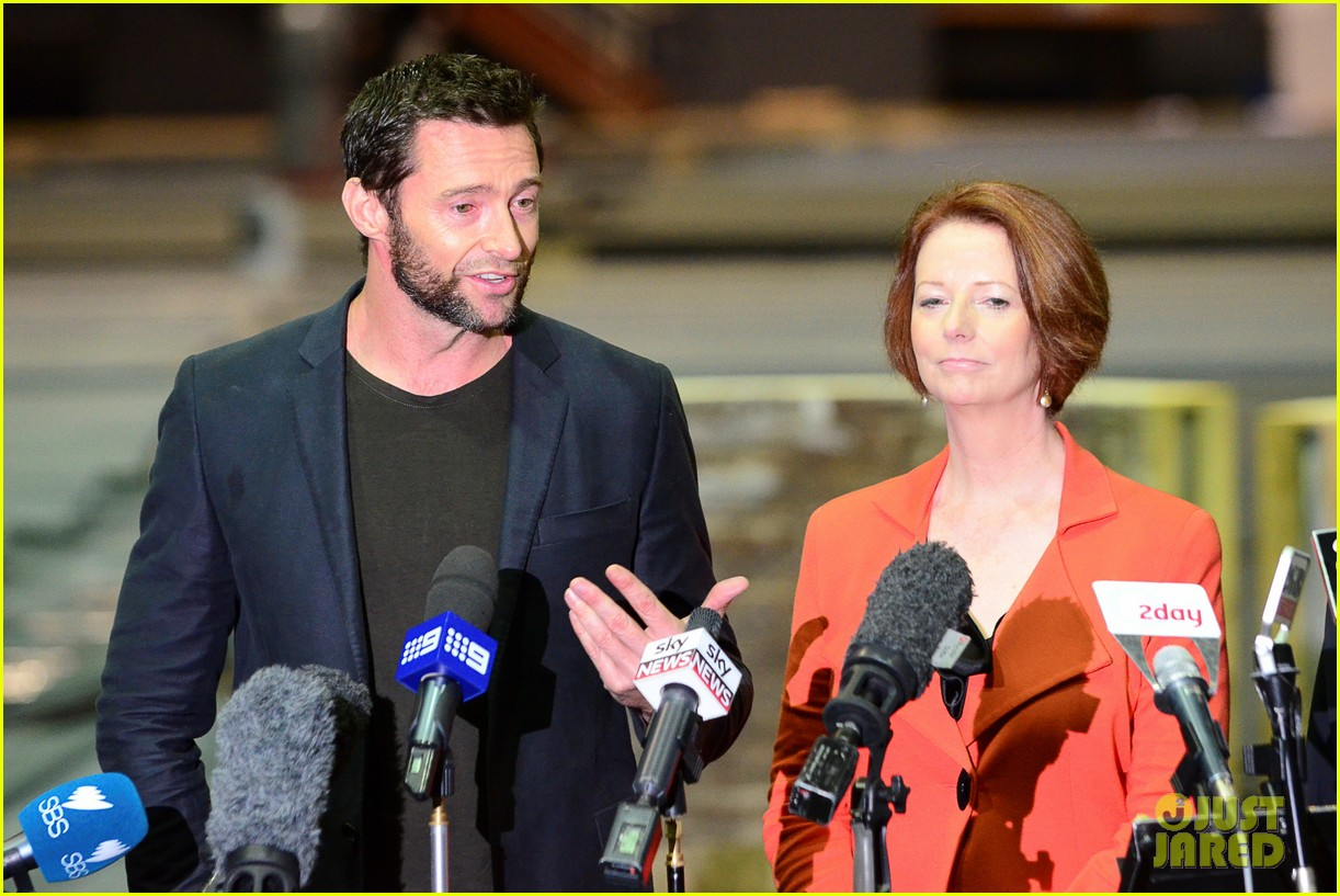 hugh jackman wolverine press conference 09