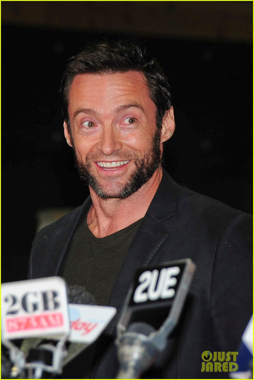 hugh jackman wolverine press conference 112691588