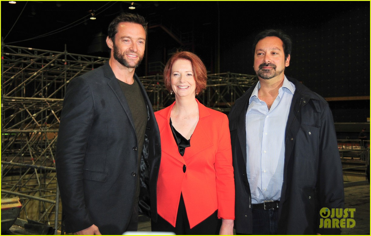hugh jackman wolverine press conference 122691589