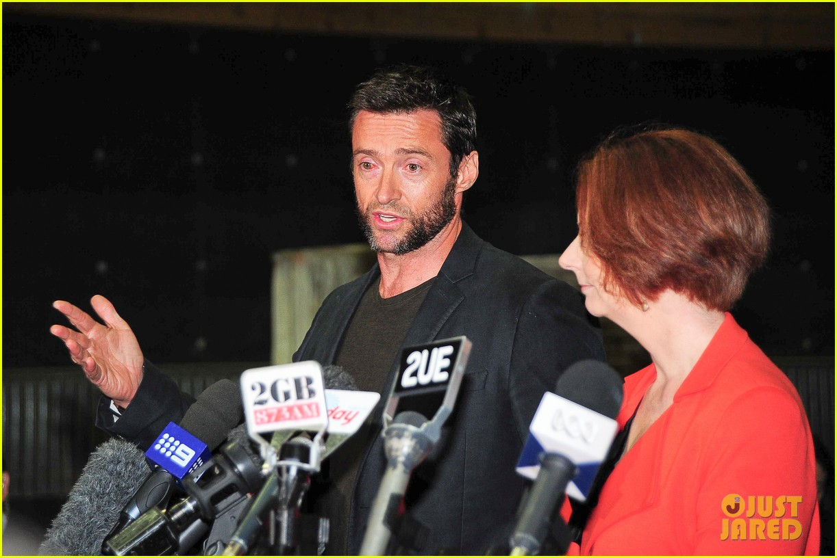 hugh jackman wolverine press conference 132691590