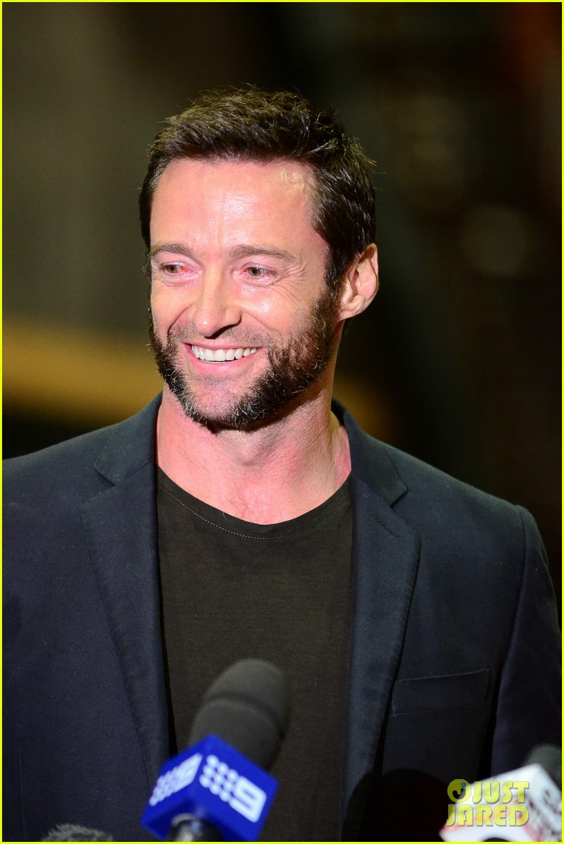 hugh jackman wolverine press conference 162691593