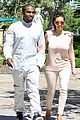kim kanye out for a walk 10