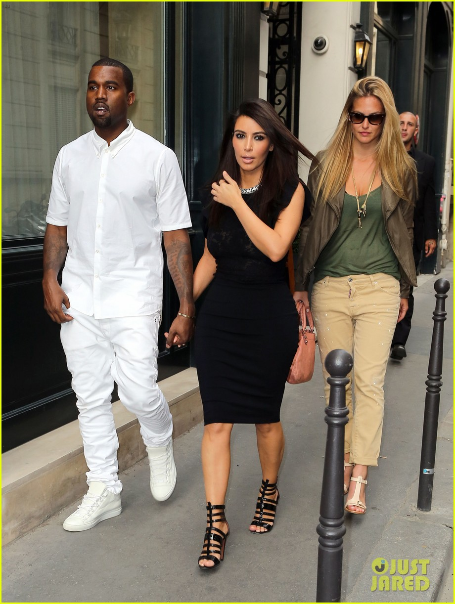 Kim kardashian kanye west fashion fun with bar refaeli