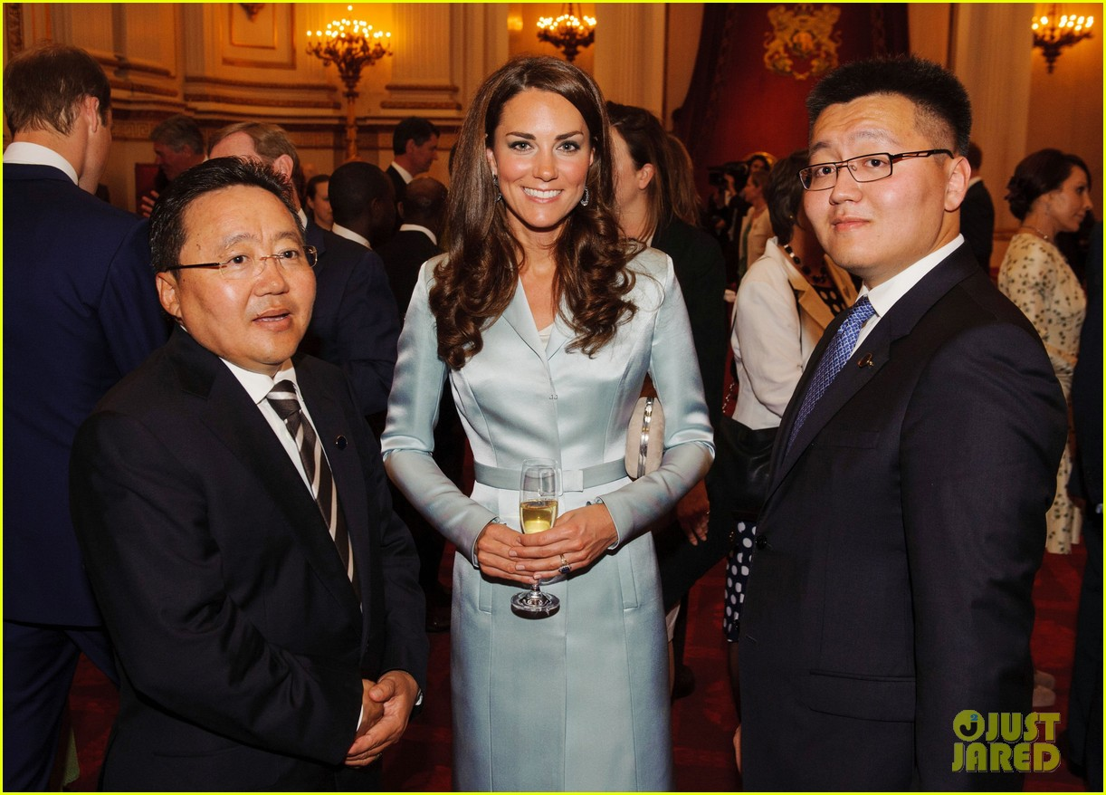 duchess kate michelle obama heads of state reception 022692906