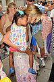 heidi klum broadways newsies with the kids 02