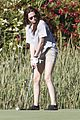 kristen stewart out golfing 13