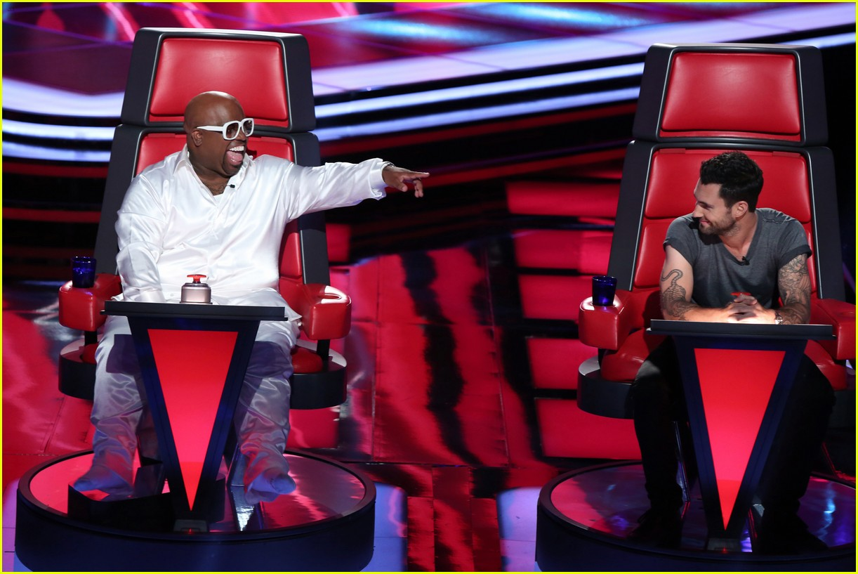 adam levin cee lo green voice season 3 exclusive pic 01