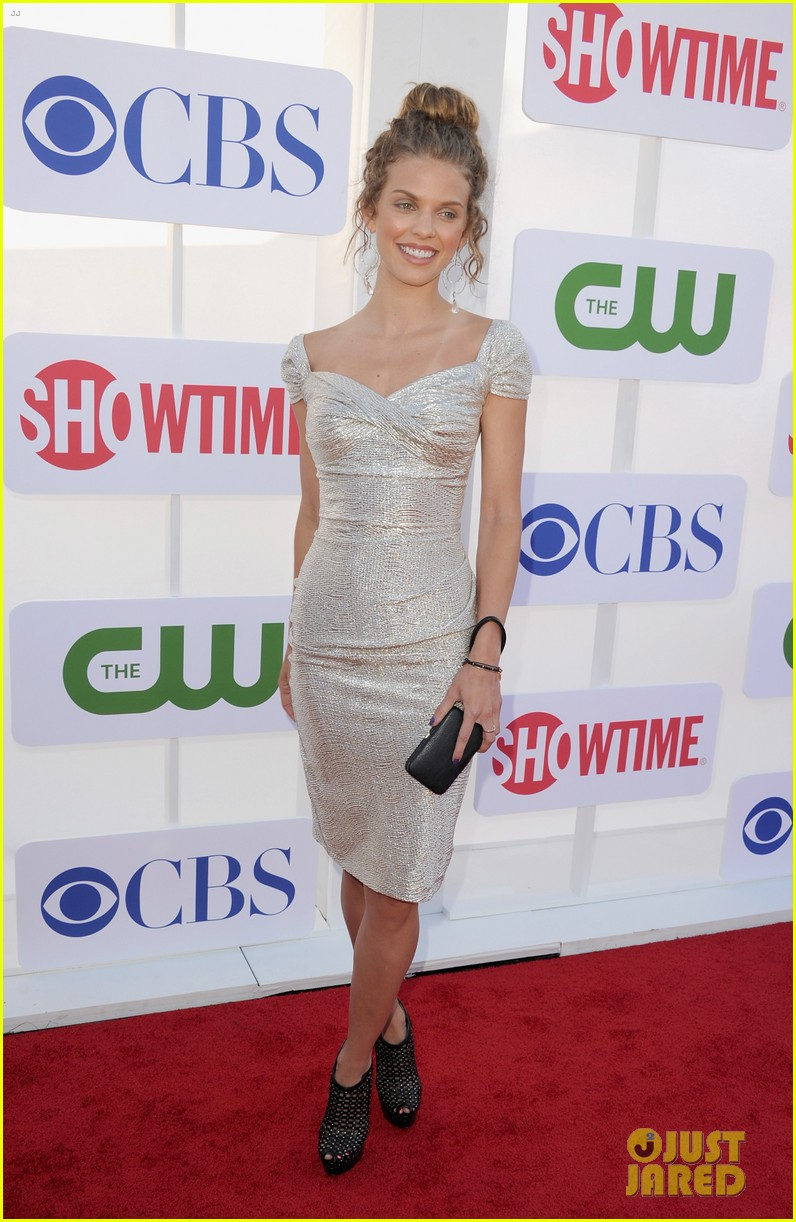annalynne mccord jessica lowndes 2012 tca summer party 022694111