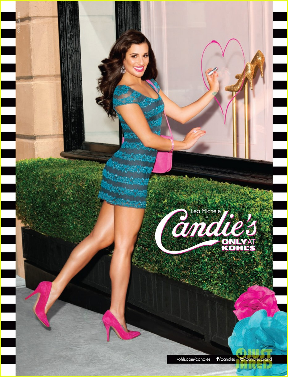 lea michele candies campaign 052685824