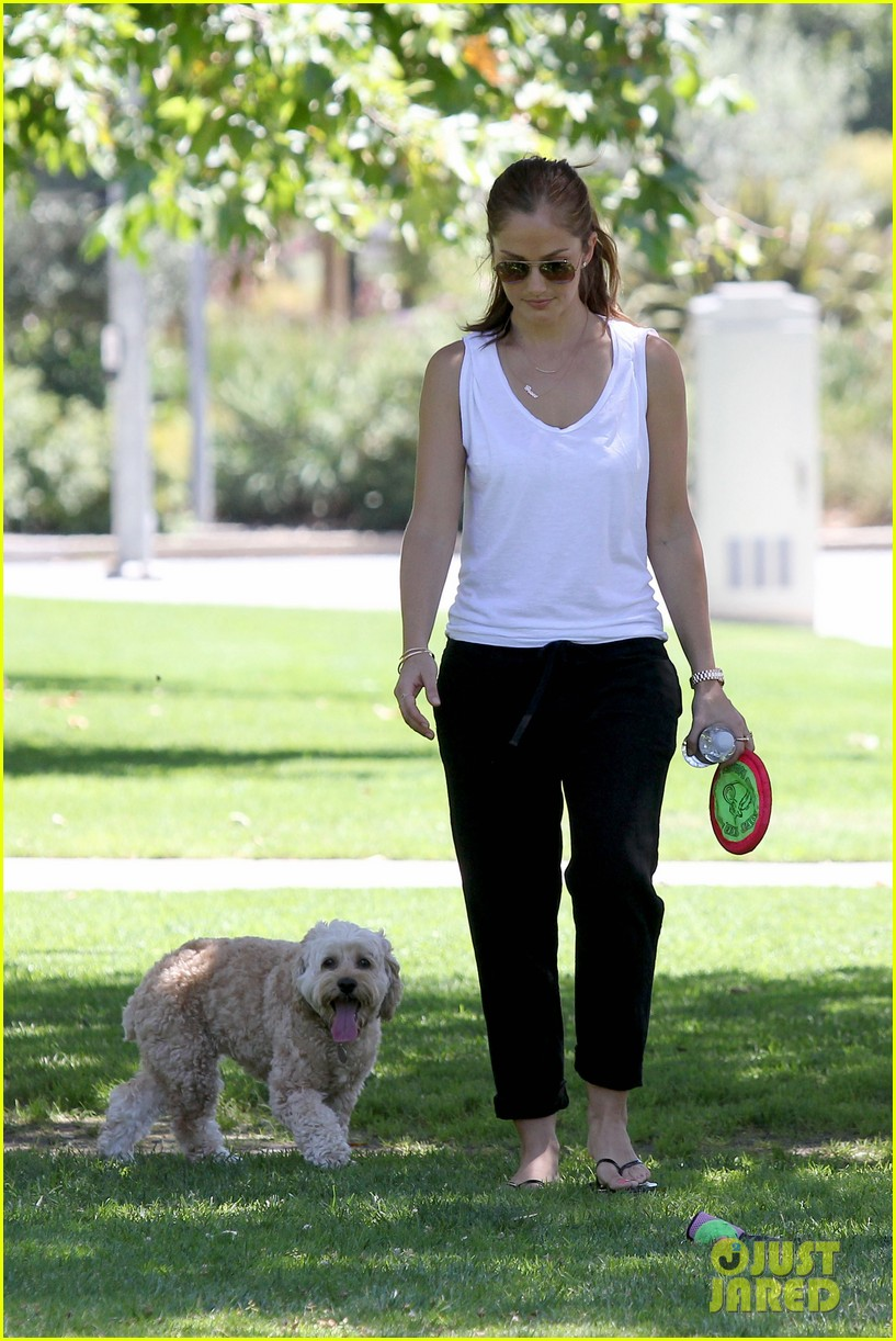 minka kelly chewy playing in the park 172689978
