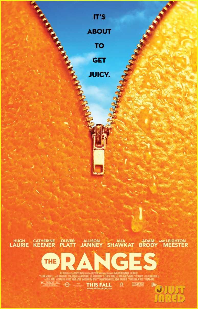 leighton meester adam brody oranges poster premiere exclusive 022686696