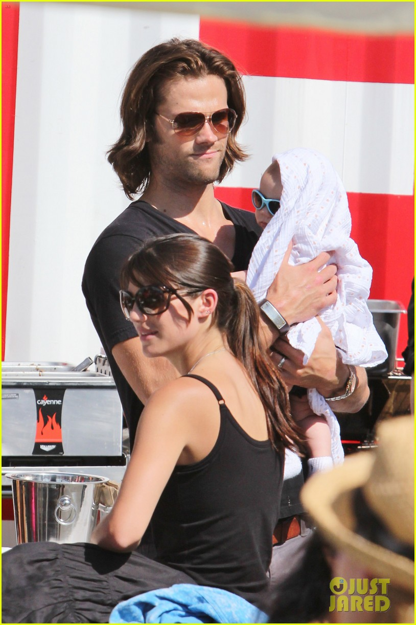 jared padalecki food festival with genevieve thomas 18