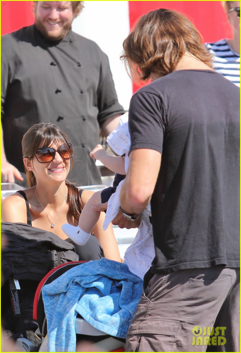 jared padalecki food festival with genevieve thomas 242694169