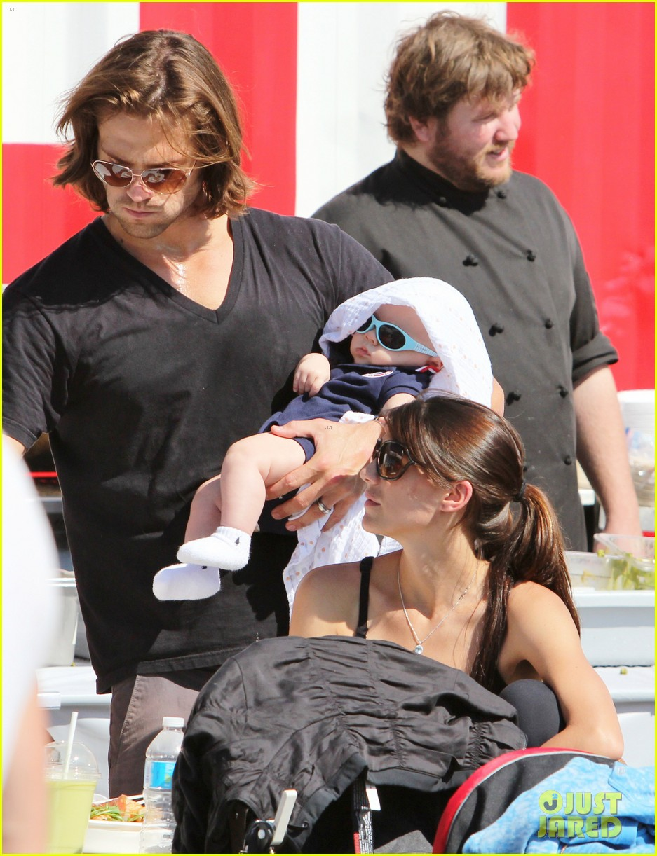 jared padalecki food festival with genevieve thomas 272694172