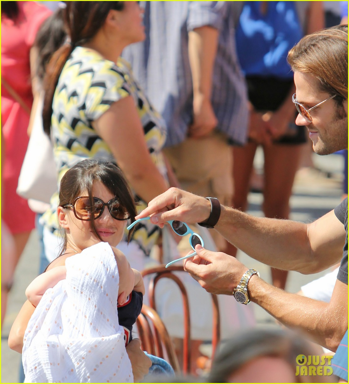 jared padalecki food festival with genevieve thomas 38