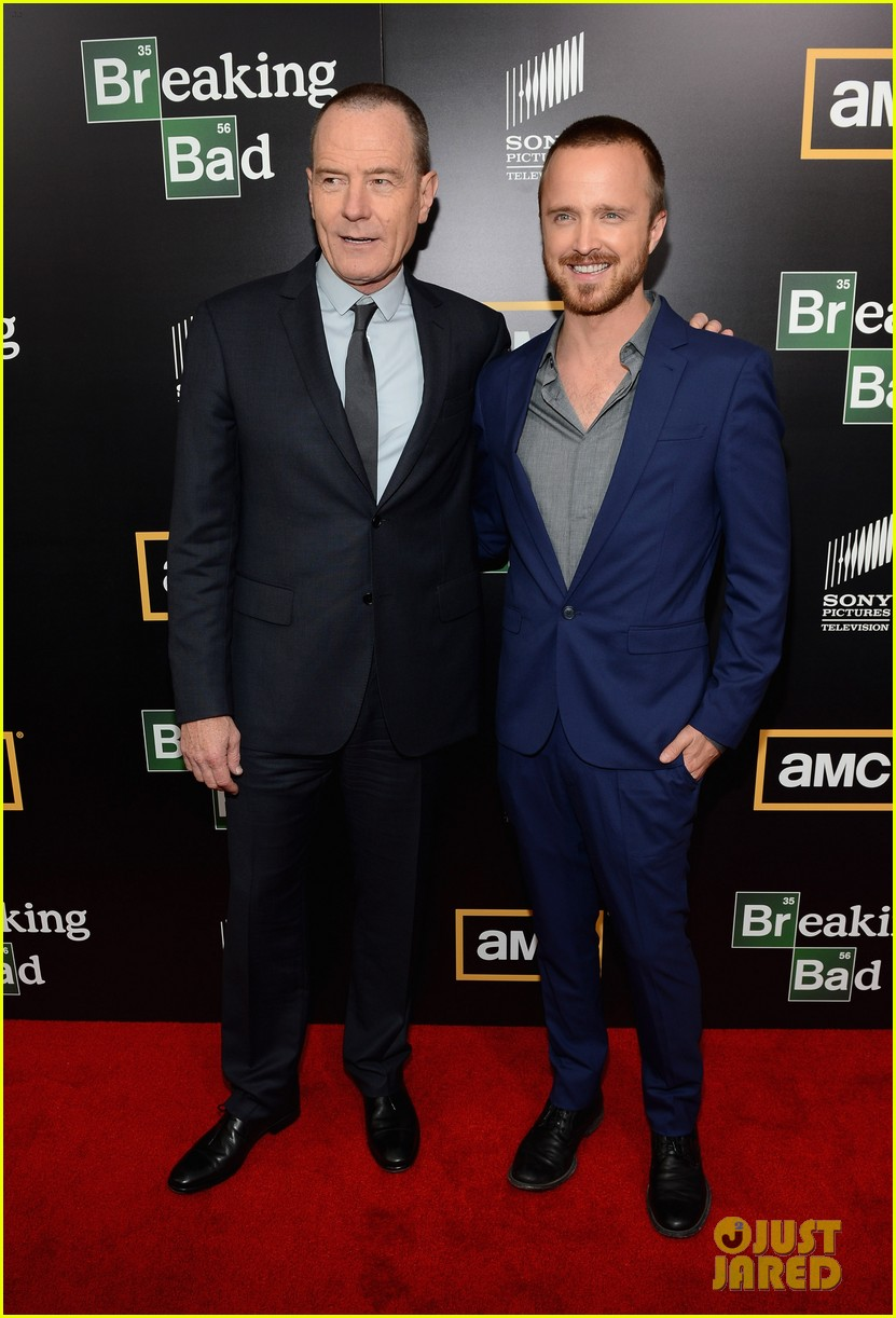 aaron paul bryan cranston breaking bad premiere 012687802