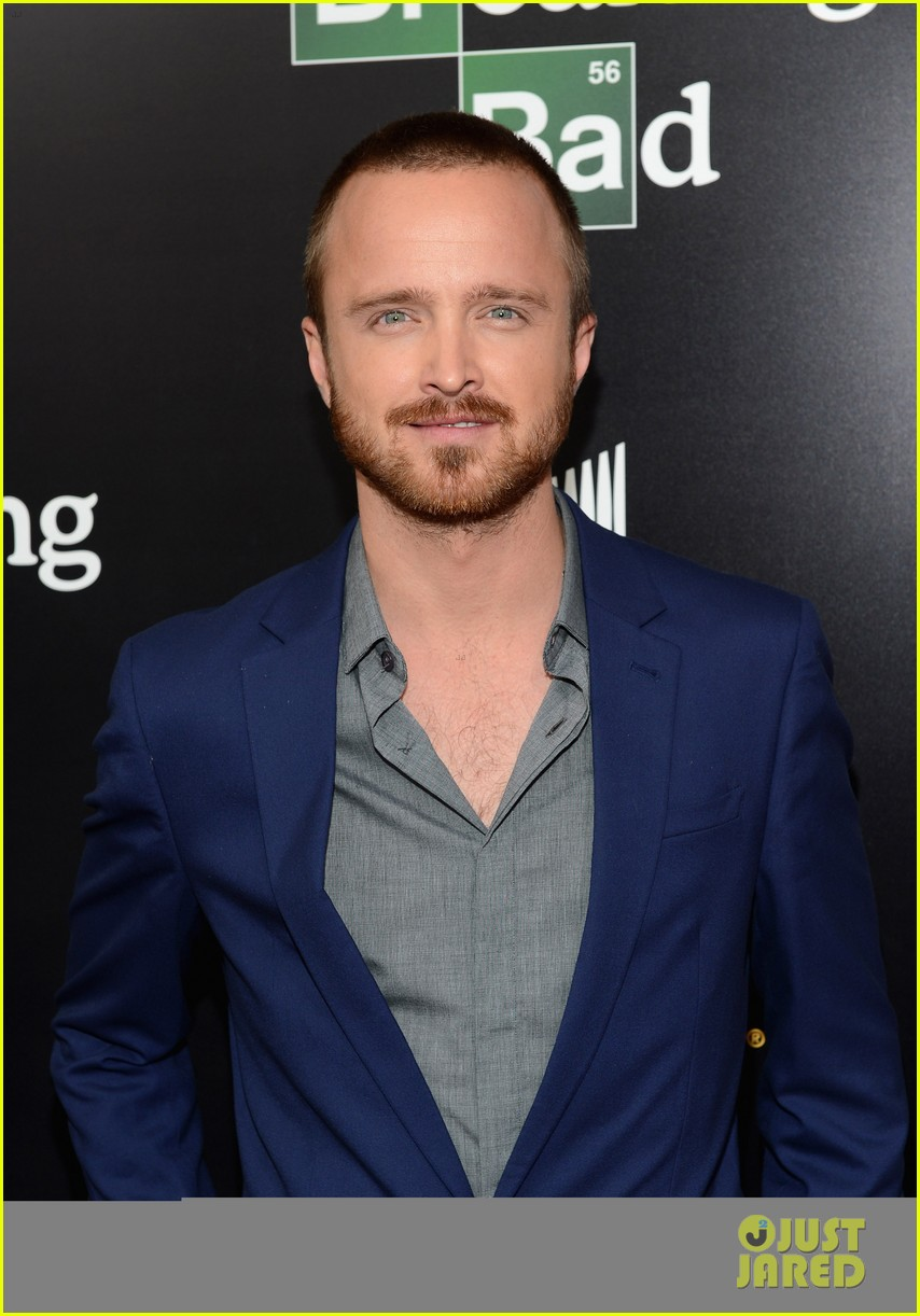aaron paul bryan cranston breaking bad premiere 02