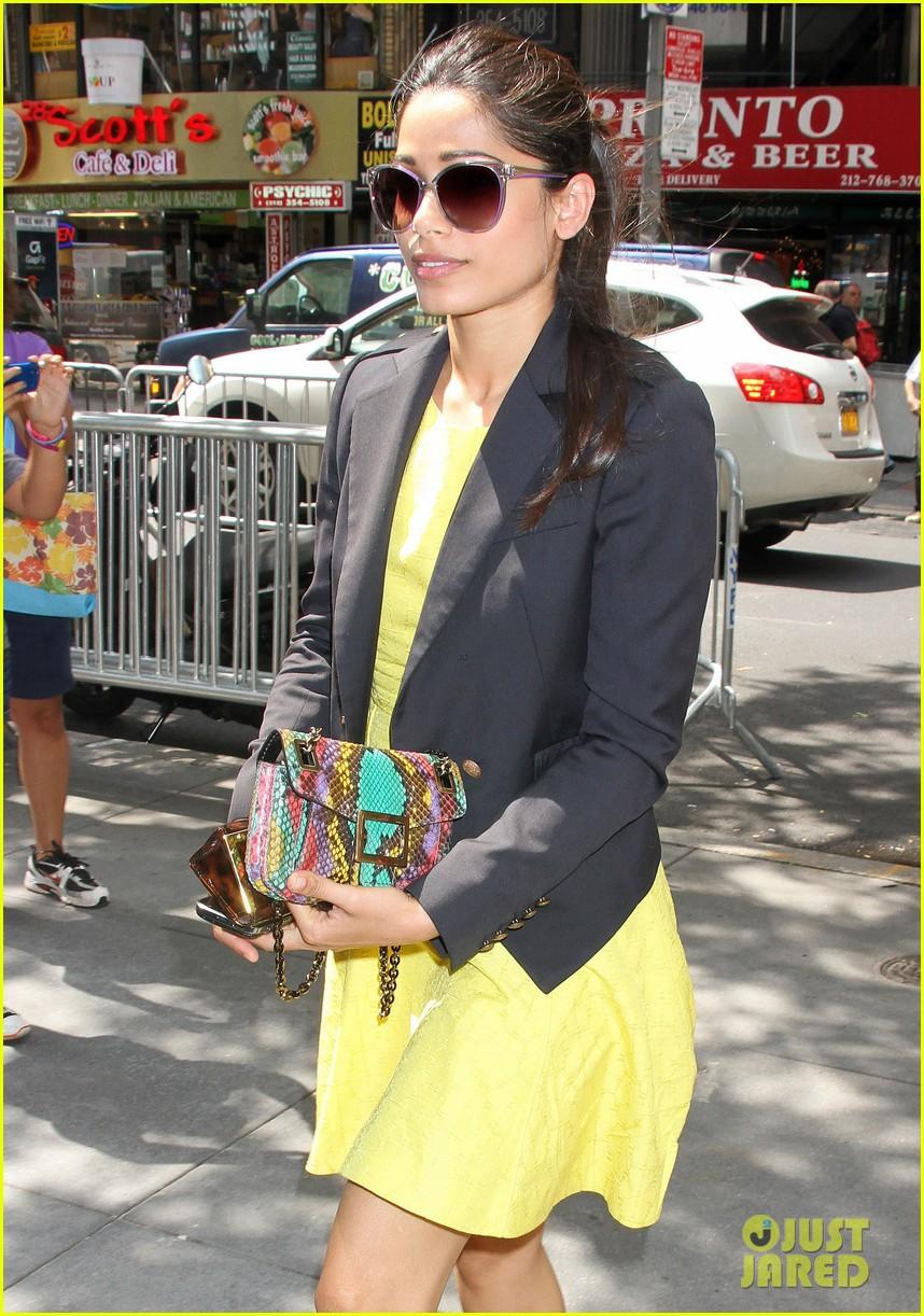 freida pinto promotes trishna in new york city 112686143