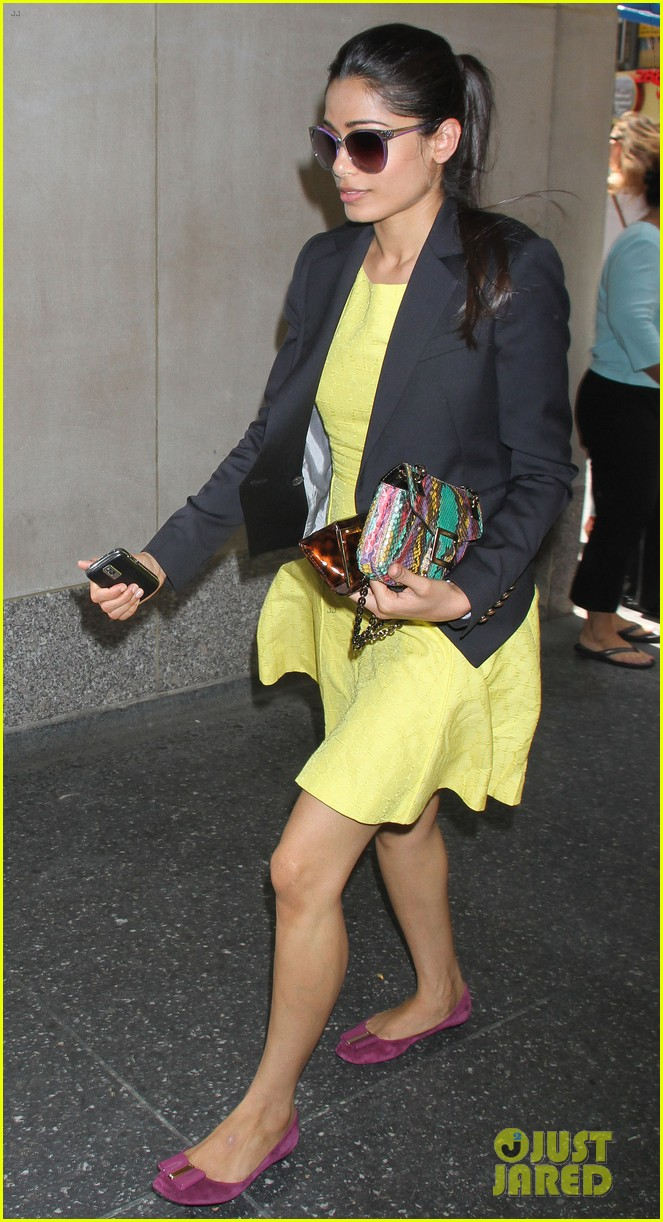 freida pinto promotes trishna in new york city 122686144