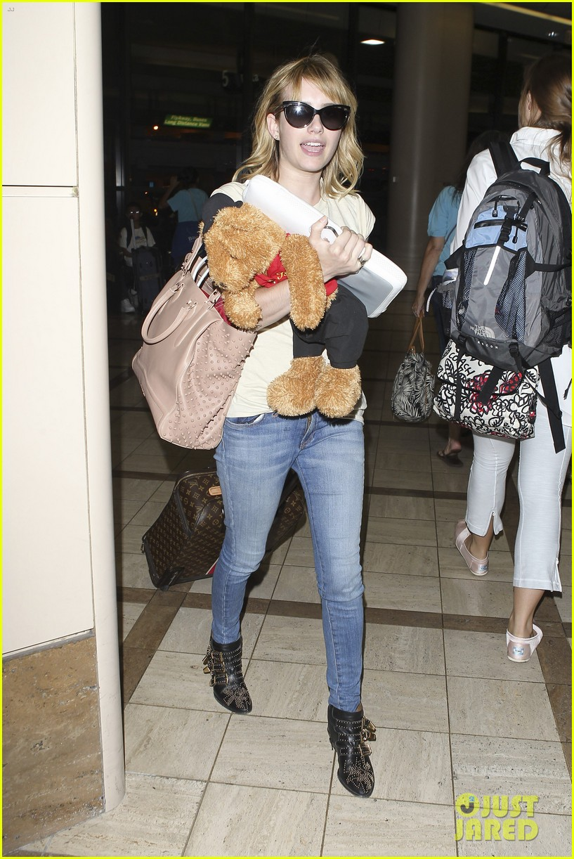 emma roberts teddy bear traveler 022686845
