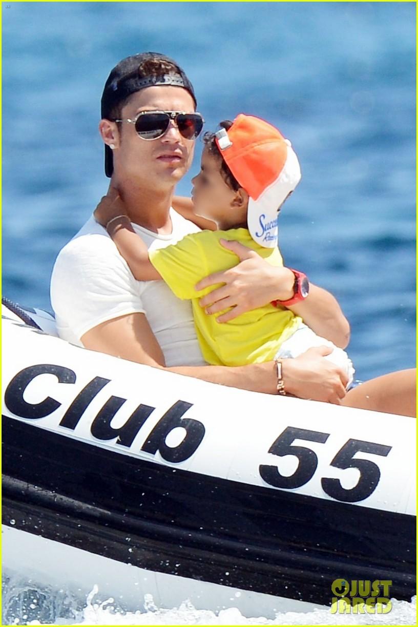 cristiano ronaldo yacht ride cristiano jr irina shayk 012682651