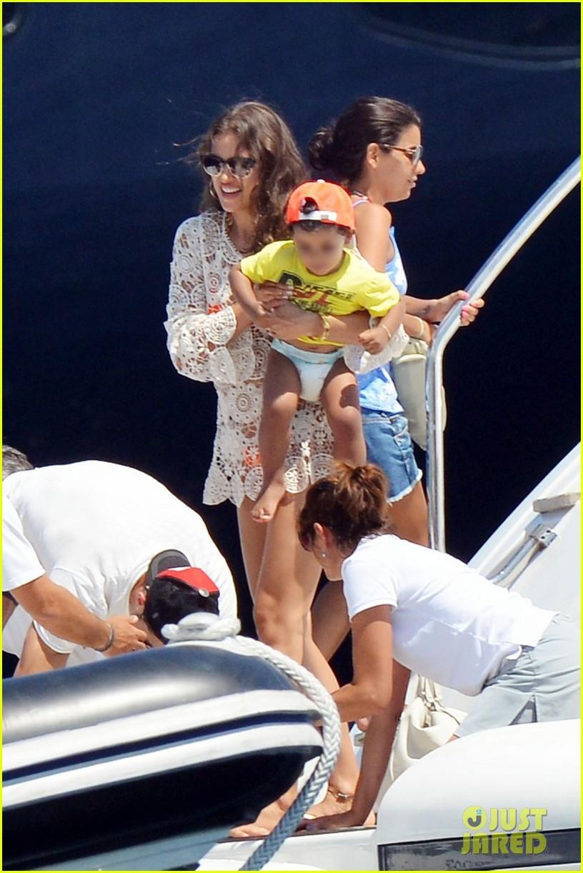 cristiano ronaldo yacht ride cristiano jr irina shayk 06