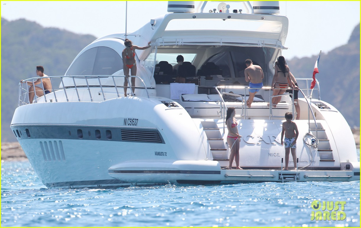 cristiano ronaldo yacht ride cristiano jr irina shayk 222682672