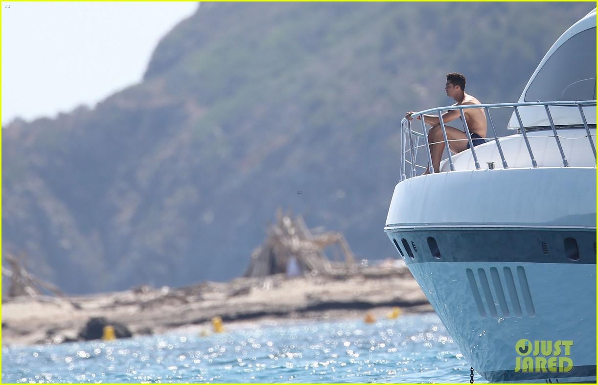 cristiano ronaldo yacht ride cristiano jr irina shayk 242682674