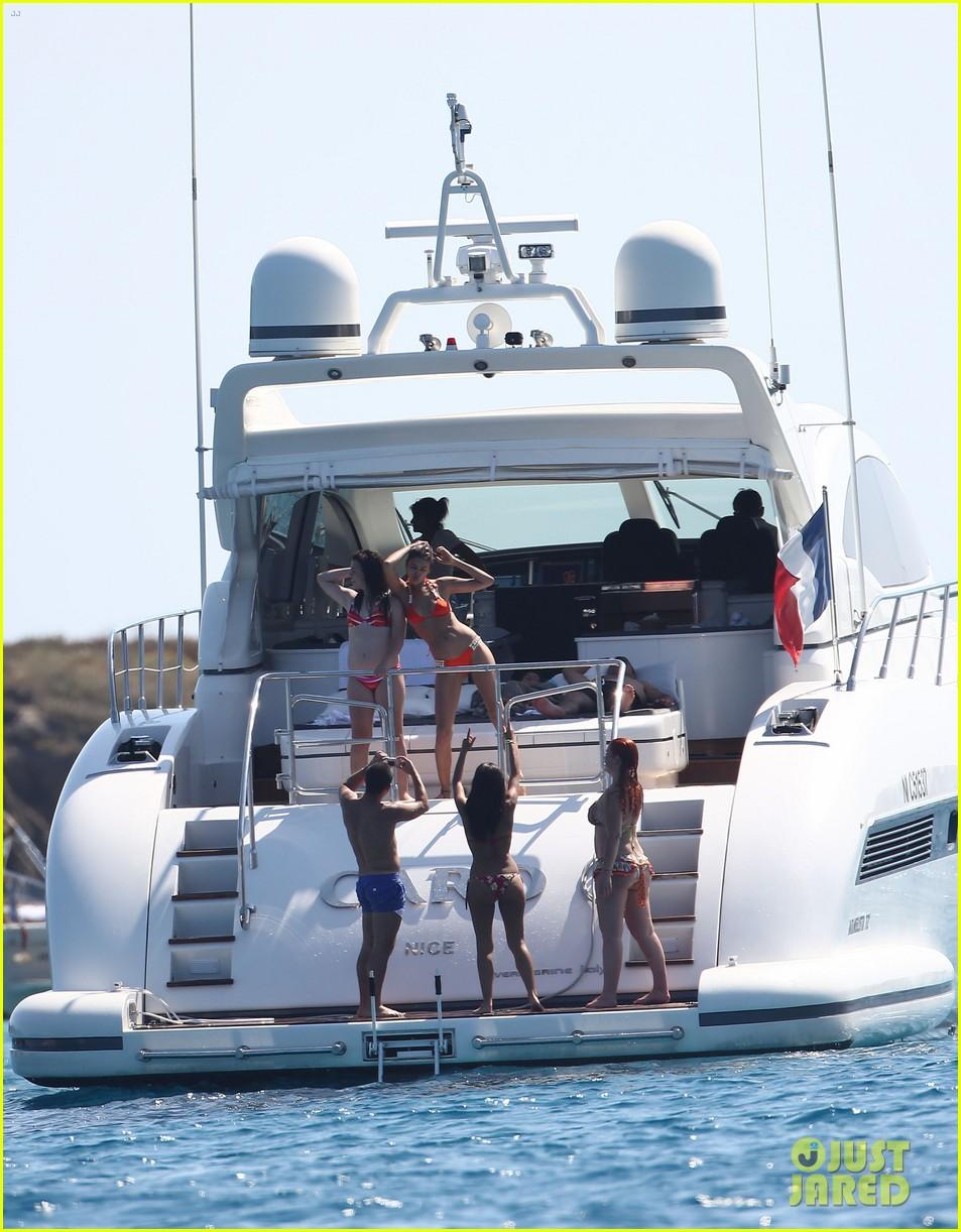 cristiano ronaldo yacht ride cristiano jr irina shayk 282682678